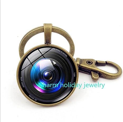Llavero Cámara Lente Cámara llavero fotógrafo regalo cámara ...