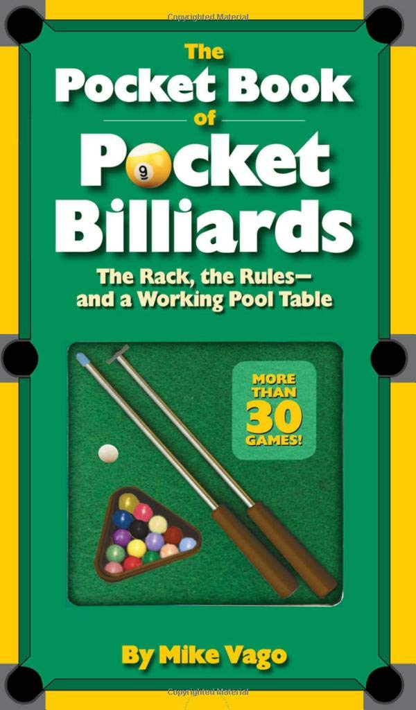 the pocket book of pocket billiards the rack the rules and a rh amazon com pool table rules and regulations pool table rules nz