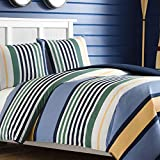Nautica Dover Cotton Comforter Set, Full/Queen, Blue