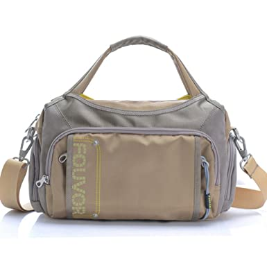7c5147f04b04 Amazon.com: Fouvor Women's Crossbody Bag Nylon Waterproof Multi ...