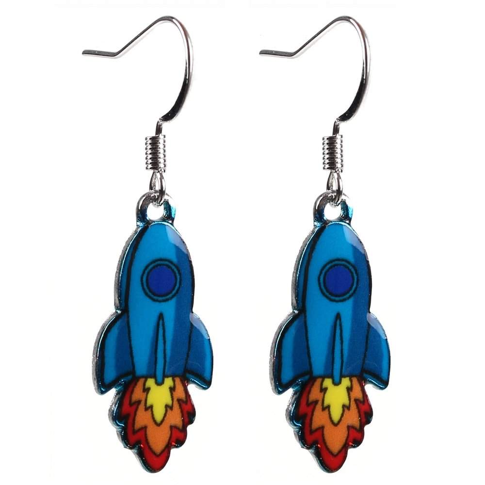 Colorful Bohemian Feather Dangle Drop Earring Gifts for Women Girls Jewelry000001001908