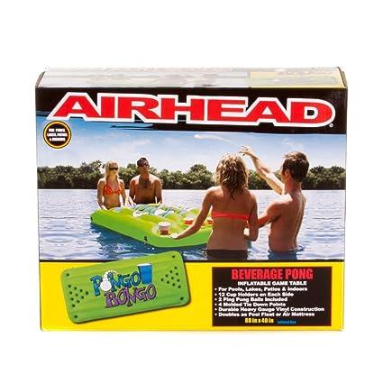 Amazon.com: Airhead Pongo Bongo Bebidas Tabla de Pong ...
