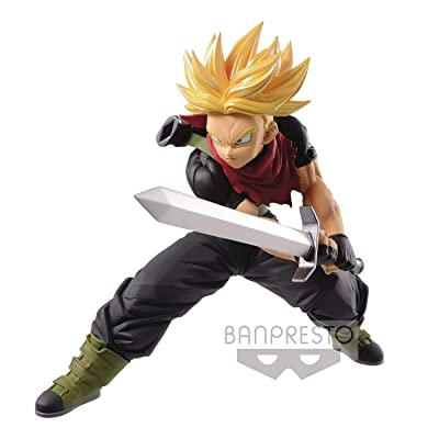 Banpresto - Figurine DBZ - Trunks Super Saiyan Transcendence Art Vol5 14cm - 3296580851485: Toys & Games