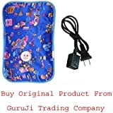 GTC® Electric Heat Bag Hot Water Bottle Pouch Massager Rectangle Shaped (Assorted Design & Color) (Pack OF 1)