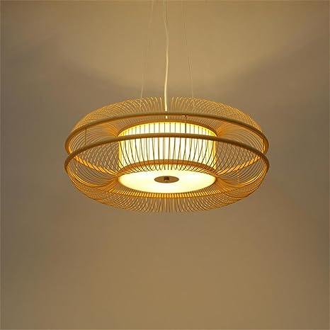 Moderna Lámpara colgante minimalis mesa madera Hollow Diseño ...
