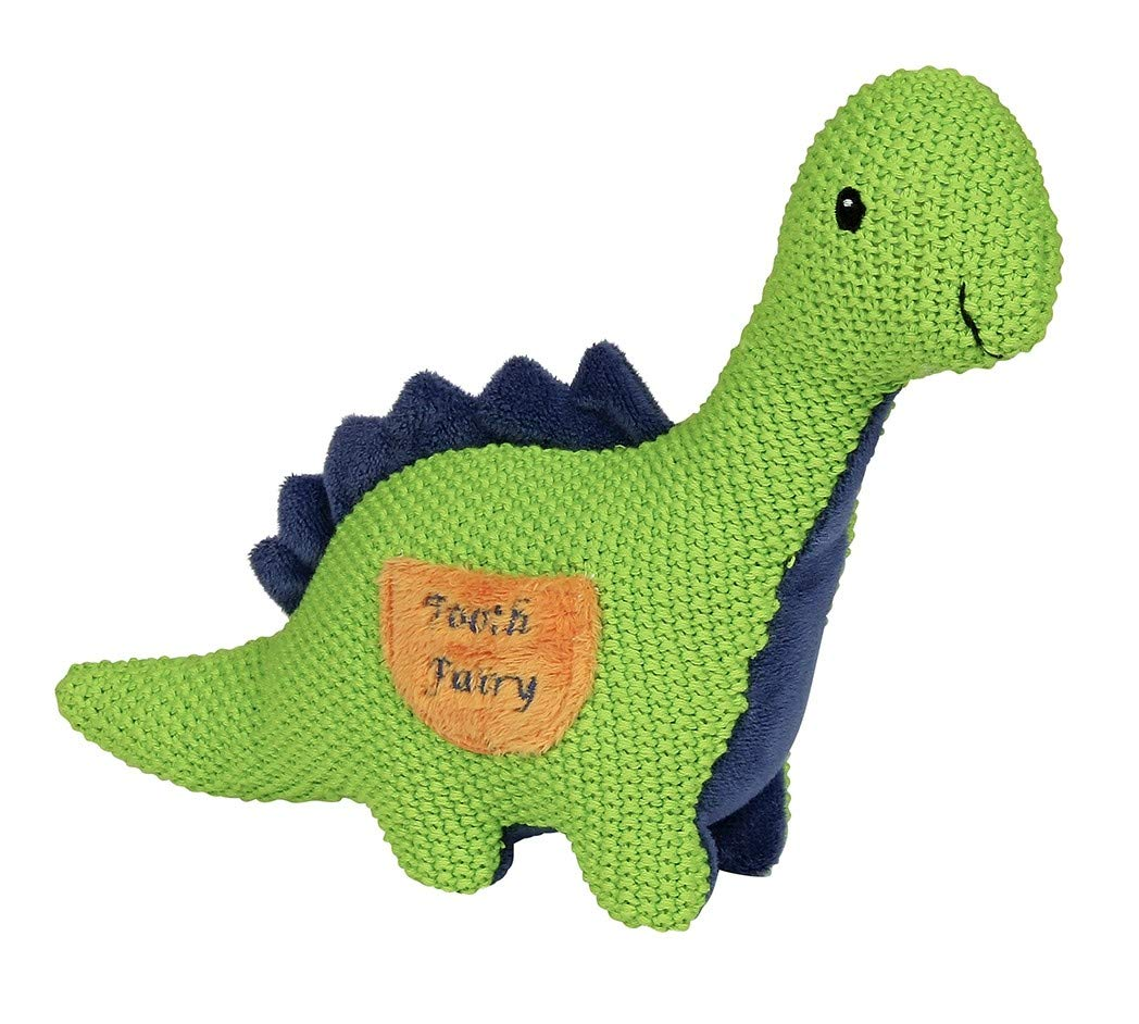 Maison Chic Danny The Dinosaur Tooth Fairy Pillow for Boys or Girls