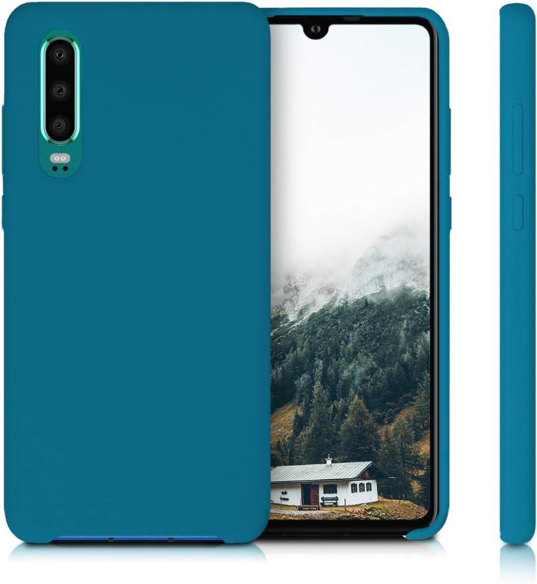 Housse de t/él/éphone Gris Clair Mat Coque kwmobile Coque Compatible avec Huawei P30