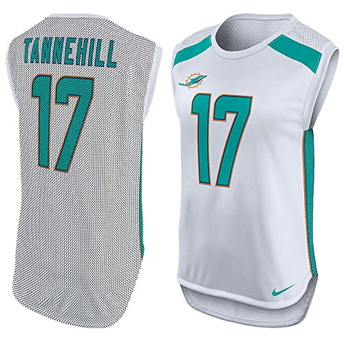 Ryan Tannehill Miami Dolphins Nike Women's Player Name & Number Sleeveless Jersey Top Size (Small)