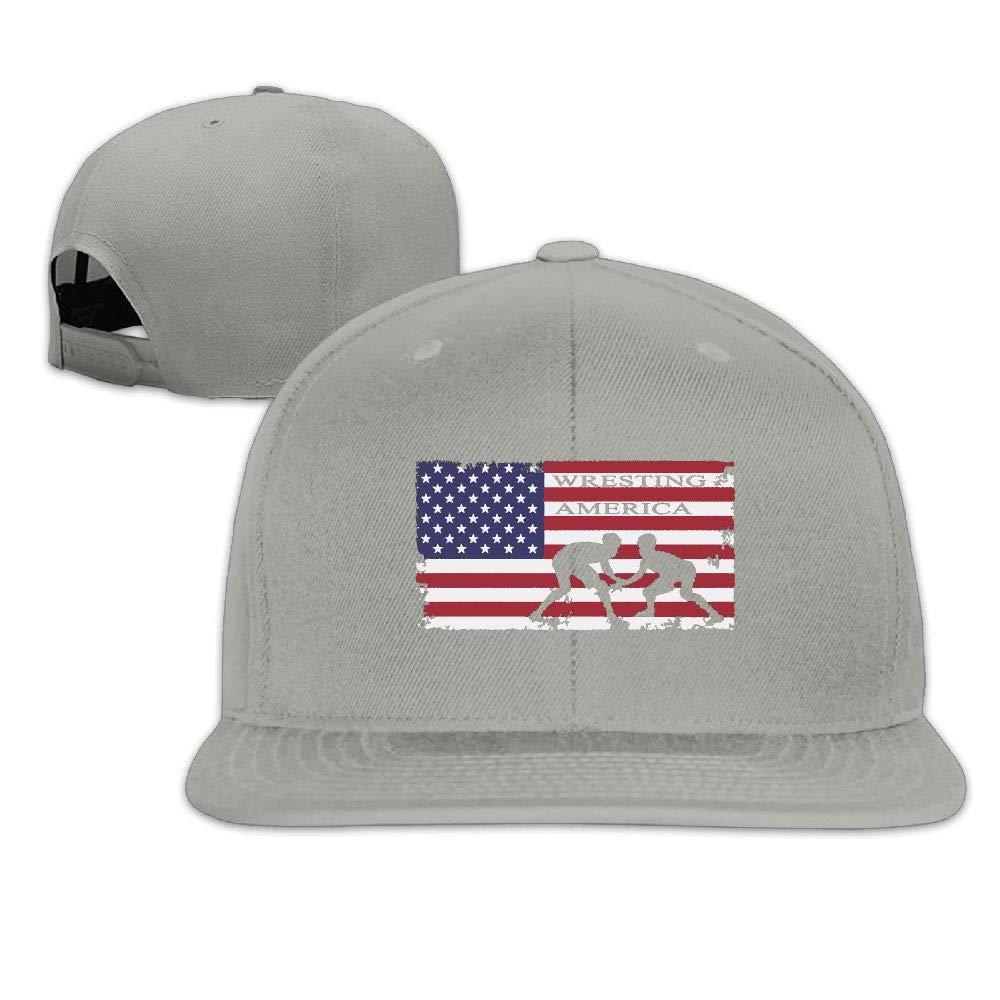 American Flag Wrestling Adjustable Baseball Cap Hats Dad Hat Snapback Hat Bill Hat Sport Hat