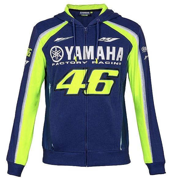 Amazon.com: Valentino Rossi 46 MotoGP Yamaha - Chaqueta con ...