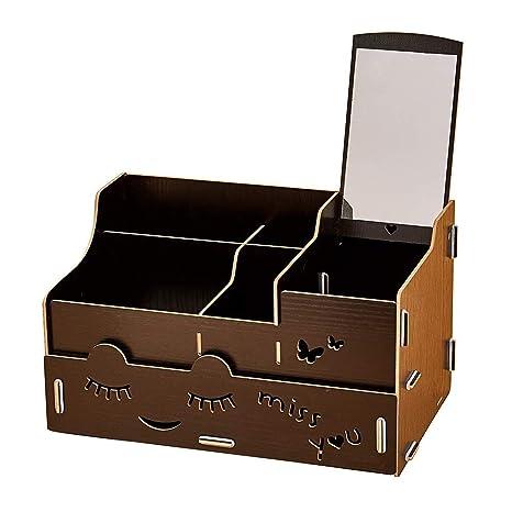 Cajas de almacenamiento Estuche de madera para el ...