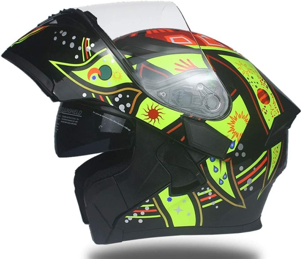 NFJ Adulto Casco Motocross Enduro MTB, Casco Cross Quad Off Road ...