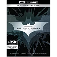 Dark Knight Trilogy Collection (4 K Ultra HD) [Blu-ray]