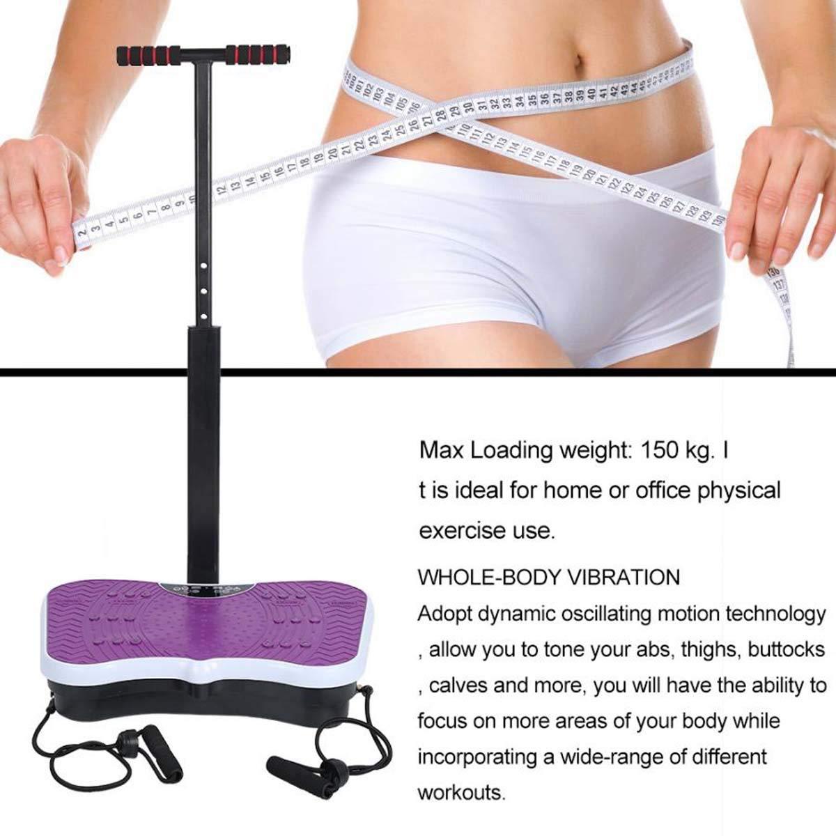 XRZY Equipo de Entrenamiento de Fitness, máquina de vibración ...