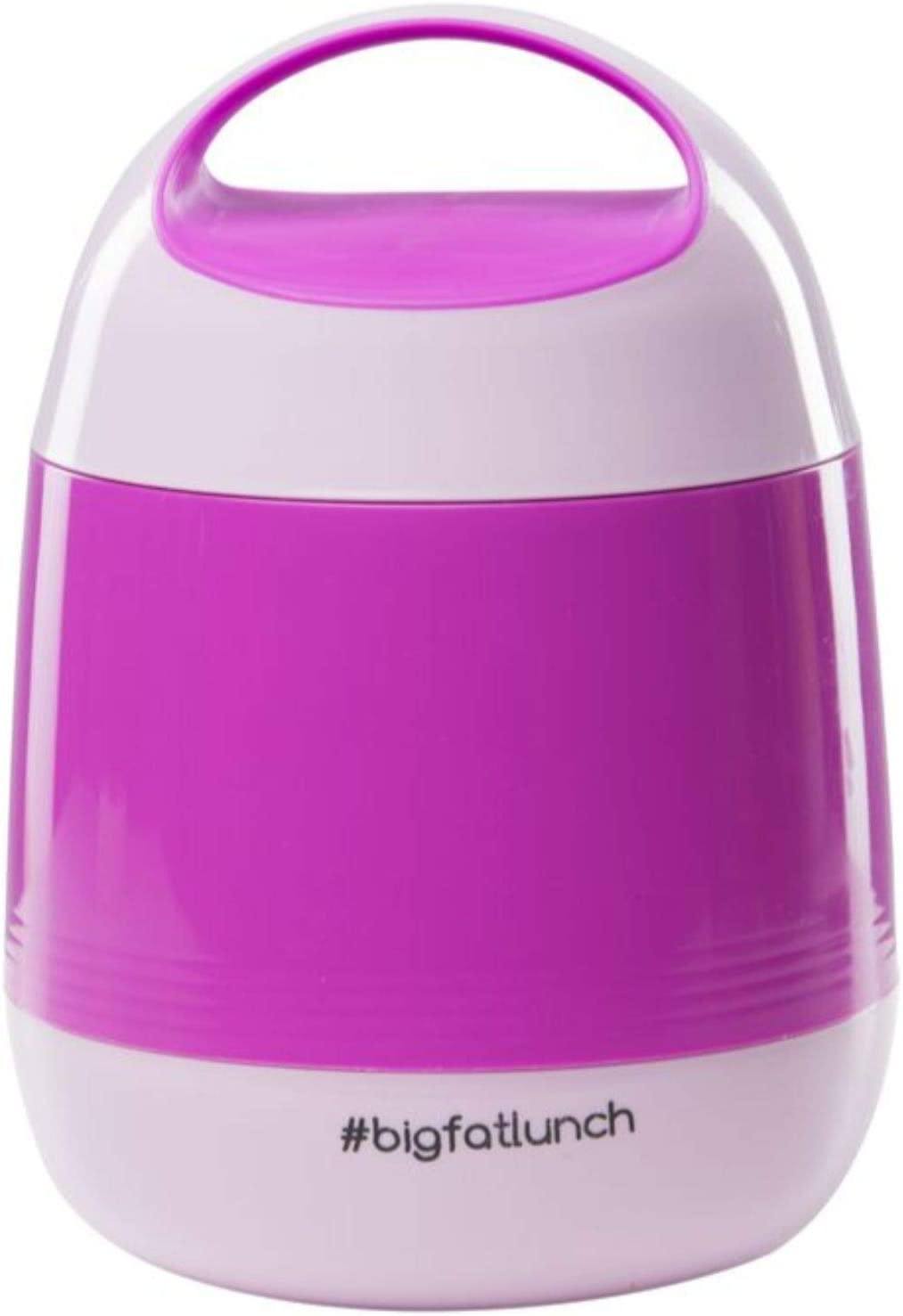 Food Thermos Lunchbox for Kids, Adults, Vacuum Insulated Hot 8 hours Food Flask. 2 Bowls Inside, Leak Proof, BPA Free, holds 40oz, Dishwasher Safe, Tiffin Box for HOT Food, Bento (Pink)