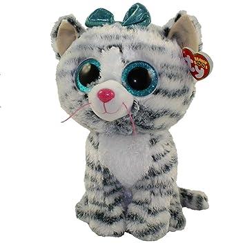 9e0b473f613 Amazon.com  Ty Beanie Babies 36408 Boos Quinn the Cat Boo Buddy  Toys    Games