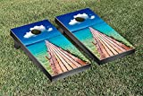 Beach Dock Cornhole Game Set