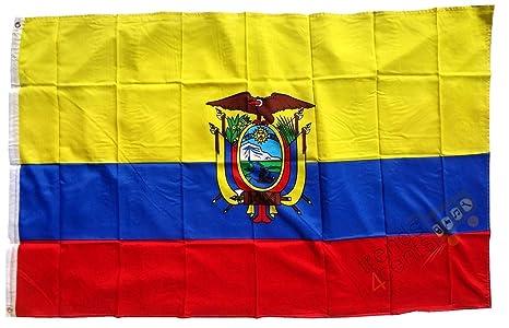 Tamaño-bandera: Ecuador 150 cm x 250 cm