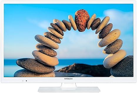 Hitachic 24hbc05w - Television hd / tv 24 pulgadas, color blanco: Hitachi: Amazon.es: Electrónica