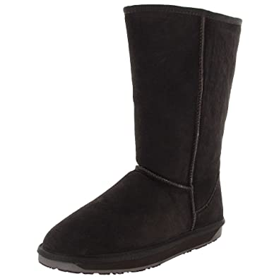 BooRoo Womens Eva Tall Suede Merino Wool Winter Boot Shoe