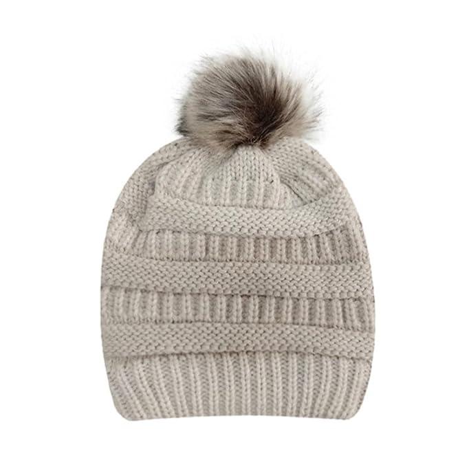 Frauen häkeln Strickmütze Hedging Cap Upxiang Winter warme Mütze ...