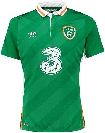 Camiseta de fútbol de la República de Irlanda 2016 2017, hombre ...