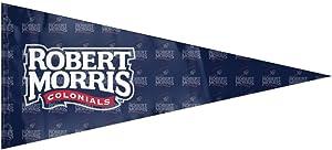 KJKJSNBS NCAA Robert Morris University RMU Robert Morris Colonials Logo 12