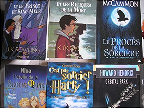 Amazon Fr Lot 24 Livres Fantasy Jeunesse Harry Potter