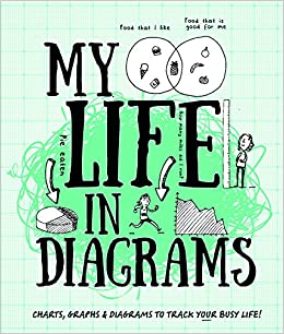 My Life in Diagrams: Charts, Graphs & Diagrams to Track Your Busy Life! (Record Books)
