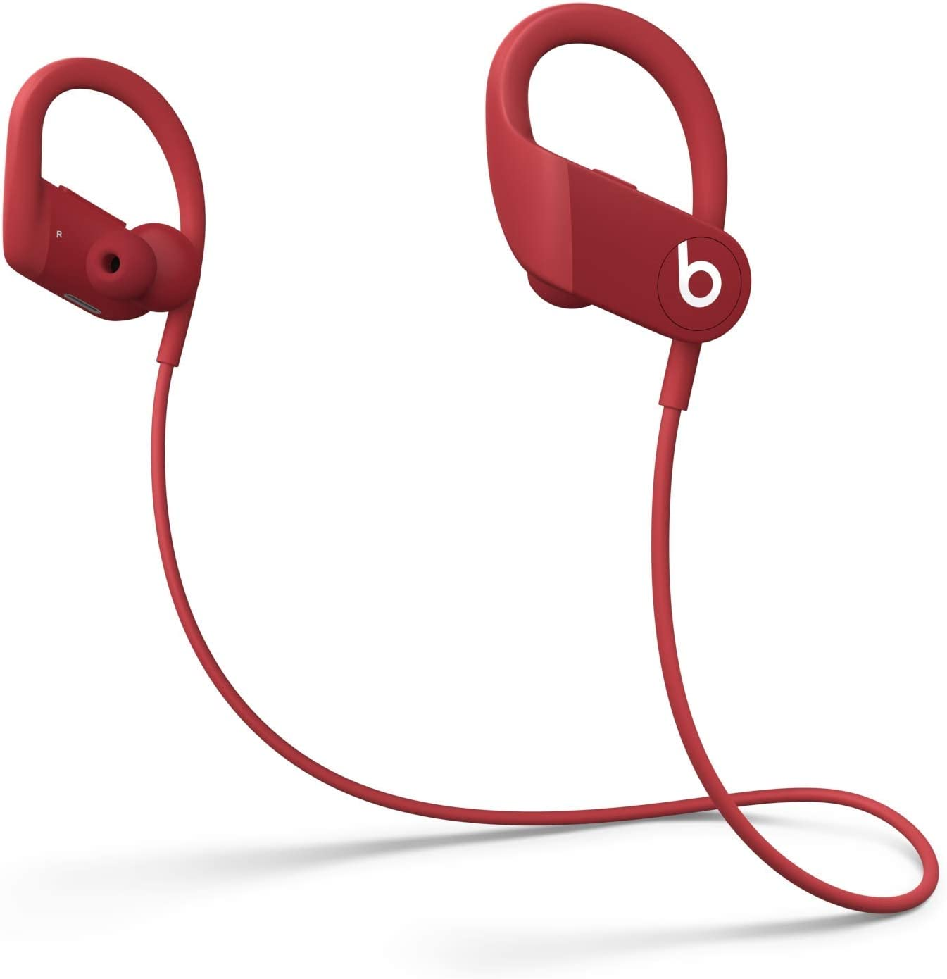 Beats by Dre Powerbeats High-Performance Wireless Earphones - Red - MWNX2LL/A (Renewed)