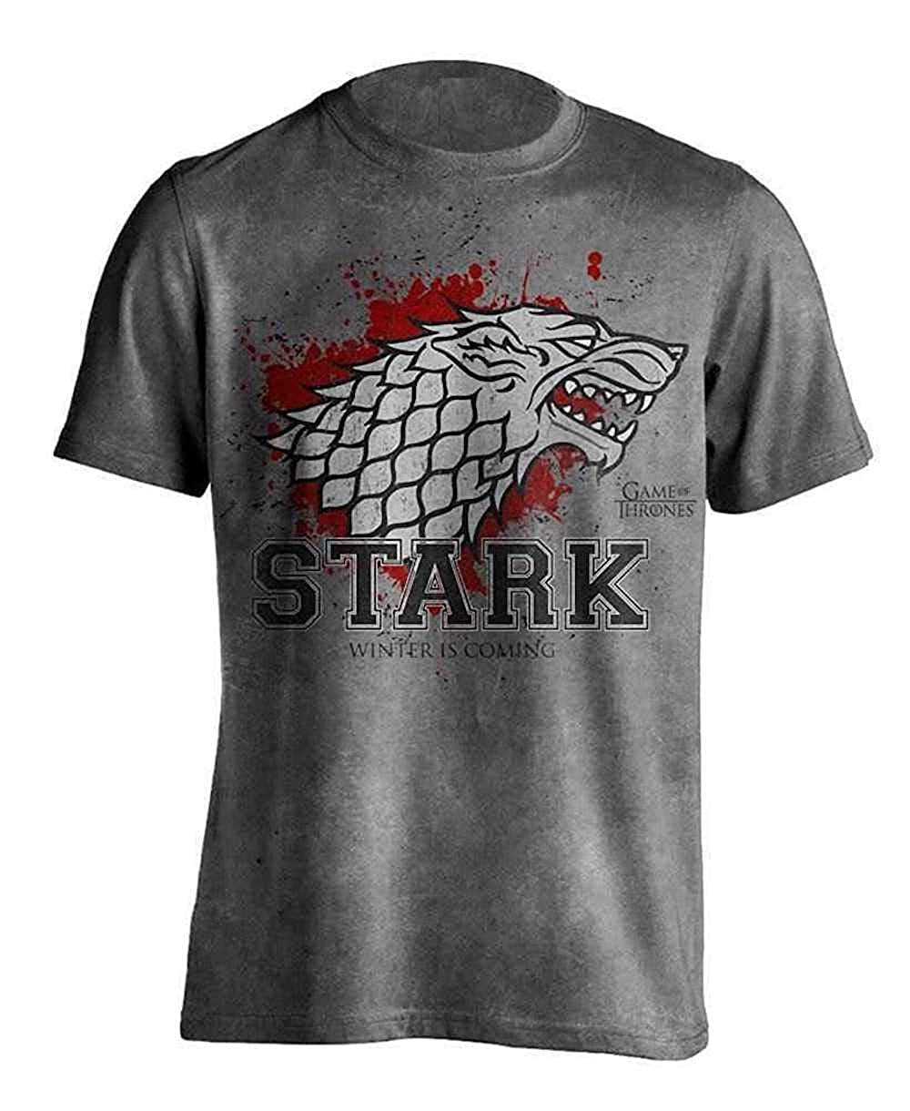 T-Shirt Ufficiale Uomo Stark The Fighter Game of Thrones