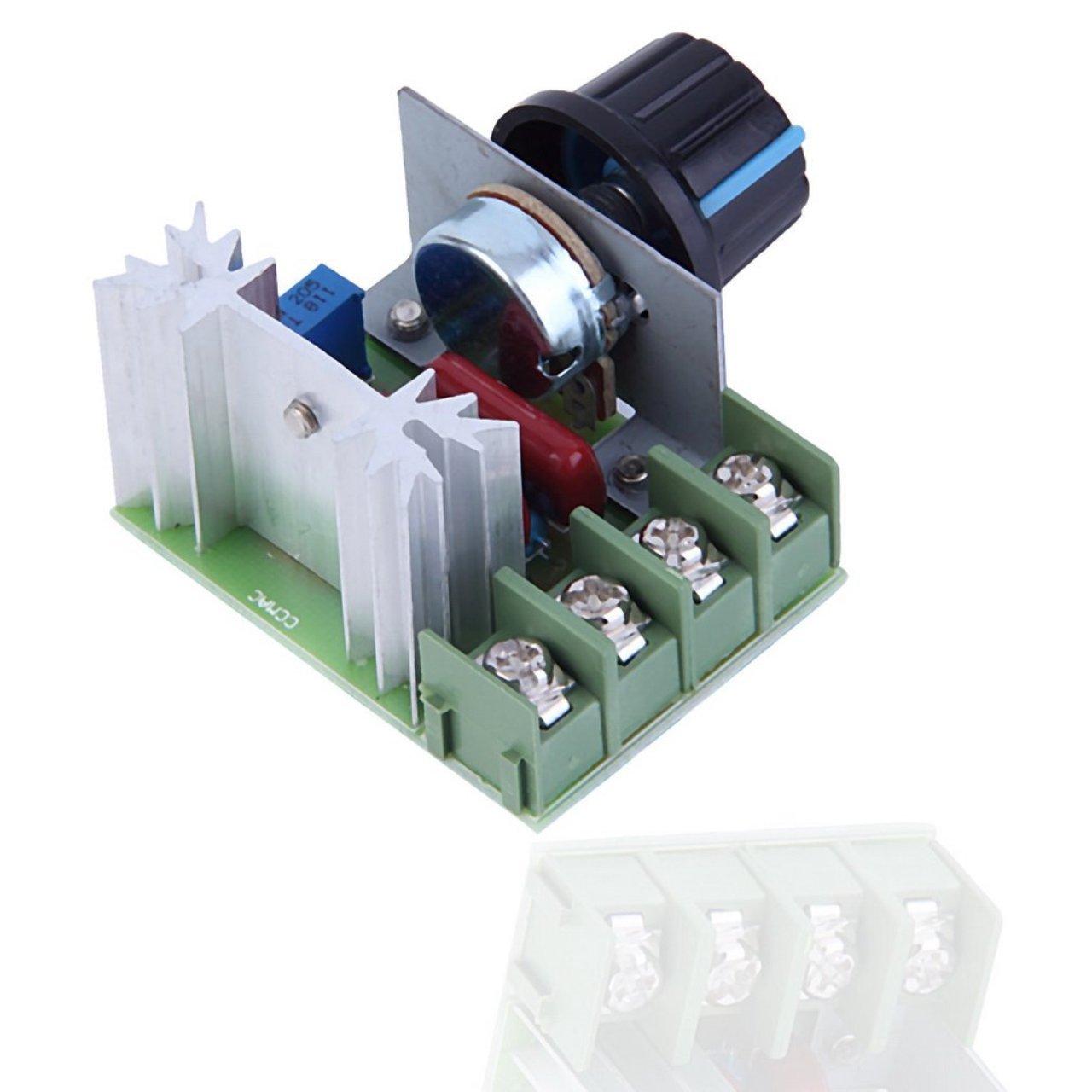 Footprintse; 2000 Watt AC 220 V SCR Spannungsregler Drehzahlregler Dimmer Thermostat