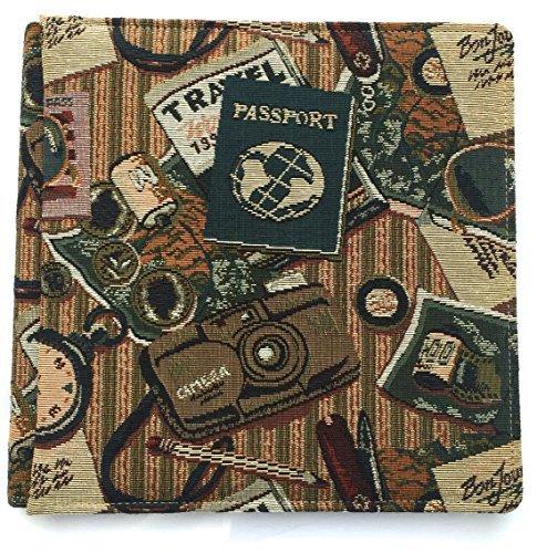 Creative Memories 12x12 Tapestry Passport Travel Album (Old Size) by Creative Memories (Memories Creative Travel Album)