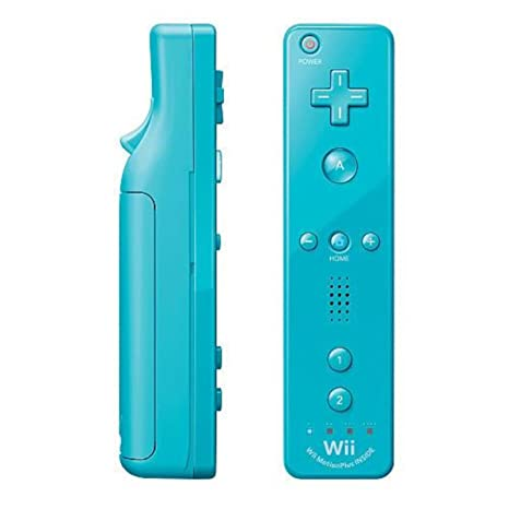 Amazon.com: Nintendo Wii Remote Plus, Blue: Video Games