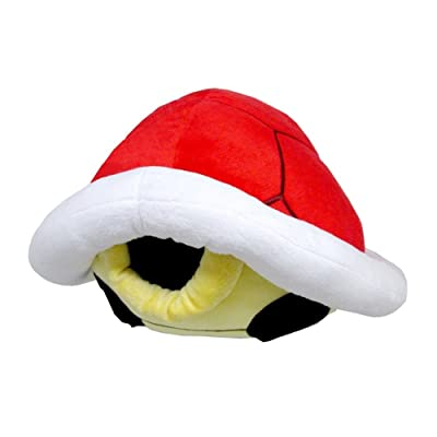 "Little Buddy USA Super Mario Series Koopa Shell Pillow Plush, 15"", Red: Toys & Games"