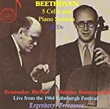 Beethoven: Cello and Piano Sonatas, Opp. 5, 69, 102