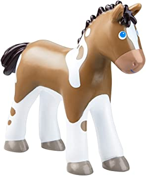 Kleinkindspielzeug Fohlen Lissi HABA 302983 Little Friends
