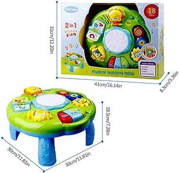 cosyhouse Mesa De Actividades De Aprendizaje Juguetes para Niños 2 ...