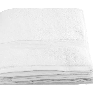 BOSS Hugo Toalla 100 x 150 blanco gris negro Beach Towel Toalla de sauna Toalla de playa Weiß White talla única: Amazon.es: Ropa y accesorios