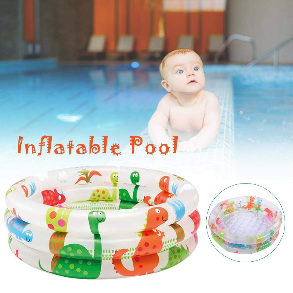 Piscina hinchable para niños pequeños con 3 anillos - Mini piscina ...