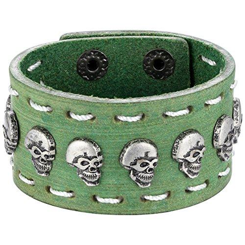Vintage Button Bracelet Green - 4
