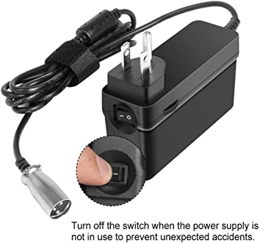 24V Battery Charger For Schwinn4.0 S180 S400 S500 S750 Zone 5 Electric Scooter