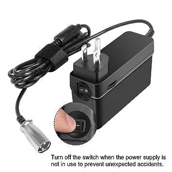 Amazon.com: KFD - Cargador de batería para scooter Schwinn ...