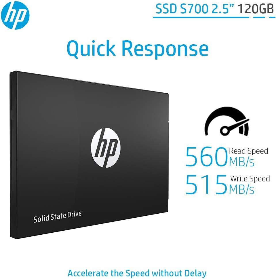 Hewlett Packard 2DP97AA#ABB - Disco Duro Interno SSD de 120 GB ...