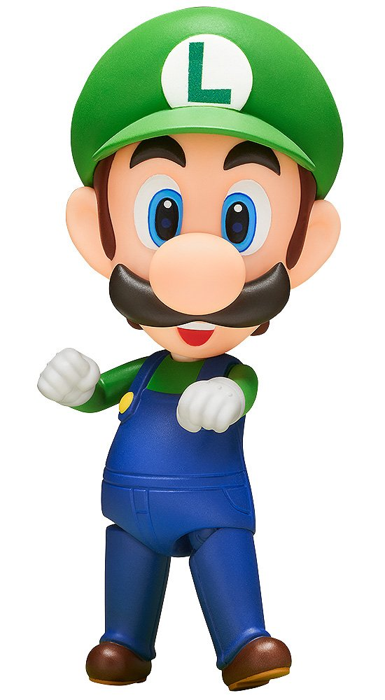 Good Smile Super Mario: Luigi Nendoroid Figure