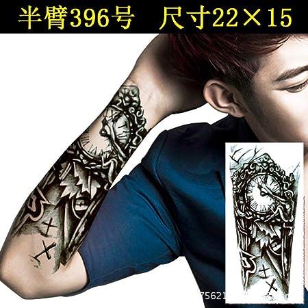 tzxdbh 5Pcs-Nuevas Pegatinas de Tatuaje Brazo de Flor Resistente ...