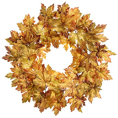 Fall-or-Thanksgiving-Golden-Leaves-Door-Wreath-24-Inches-Diameter