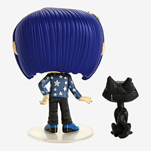 Amazon Com Funko 32811 Pop Movies Coraline With Cat Buddy Collectible Figure Multicolor Standard Toys Games