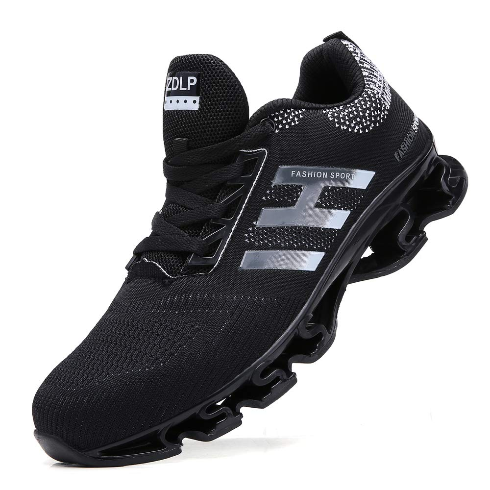 SKDOIUL Springblade Sport Running Shoes for Mens Mesh Breathable Trail Runners Fashion Sneakers