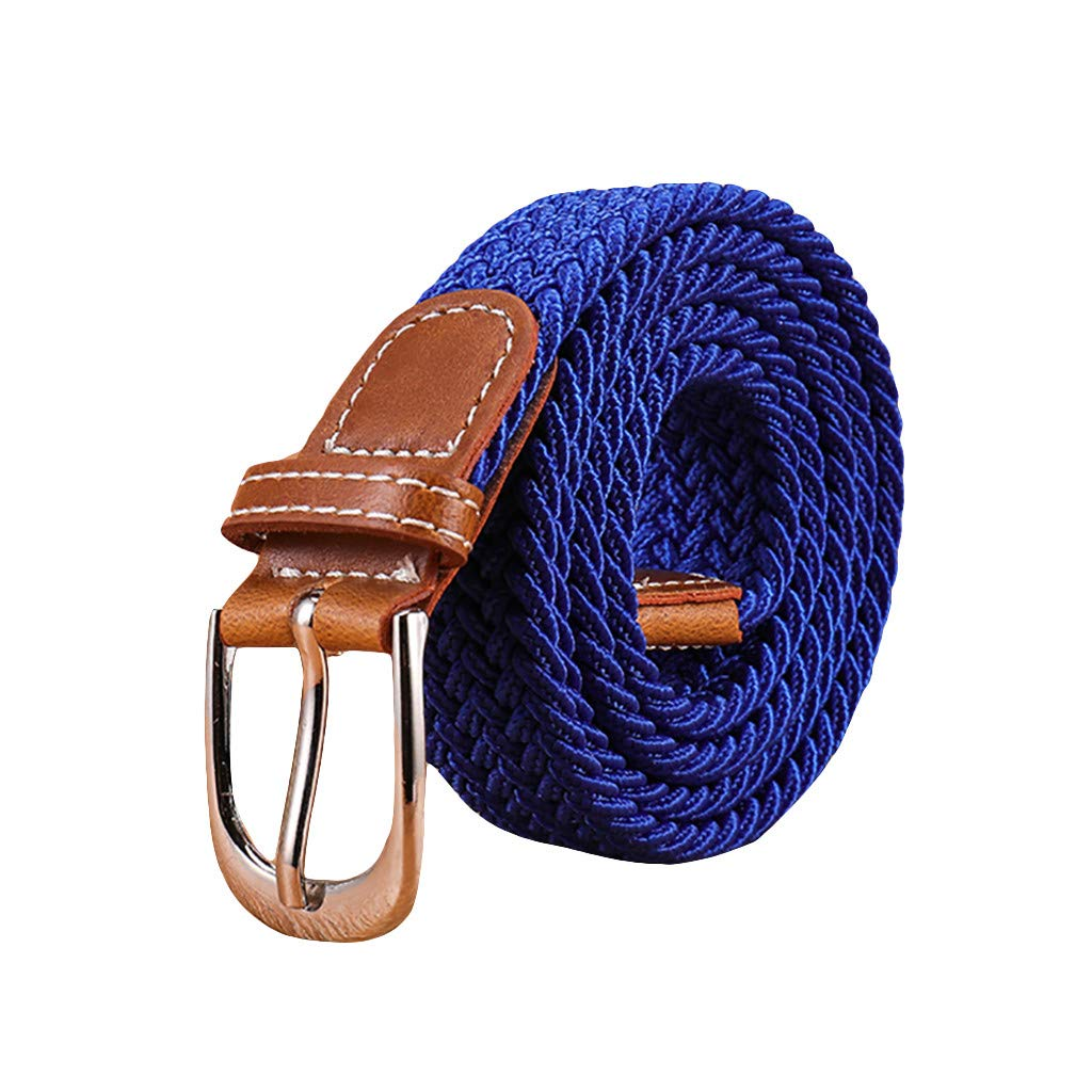 Braided Canvas Belts Unisex...